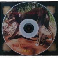 DVD - Predator Trapping 101 with Ted Mitchell (2 disc set)