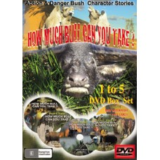 DVD 'How Much Bull Can You Take' - PARTS 1-5 BOX SET