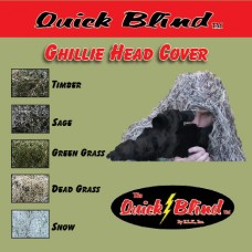 Ghillie Head Cover - DEAD GRASS PATTERN