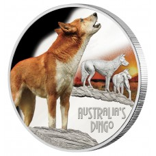 Deadly & Dangerous Dingo $1 Coin - 1oz Silver Proof 2018