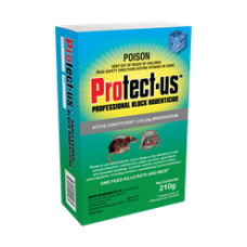 Professional Block Rodenticide - 210g