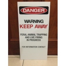 Safety Sign - Medium (Corflute)