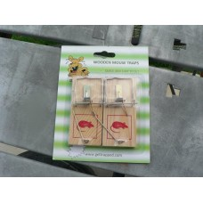 Mouse Snap Trap - Wooden (box of 5 x 2pk)